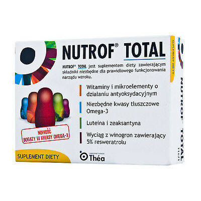 Nutrof Total - Eye Supplementl 120 Capsules