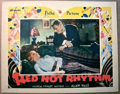 Red Hot Rhythm '29 Lc ~ Outstanding Art Deco Cityscape Border Artwork!