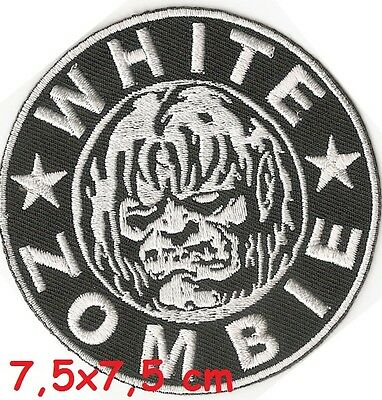 White Zombie -  patch - FREE SHIPPING