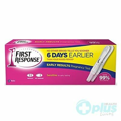 First Response Pregnancy Test, 2 Tests,  Packaging may vary!