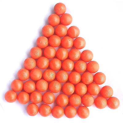 New .68 cal Reusable Rubber Training Balls Paintballs -100 Pcs