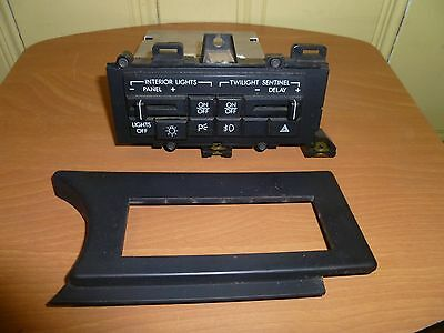 1989  Cadillac Allante Head Light Switch Panel