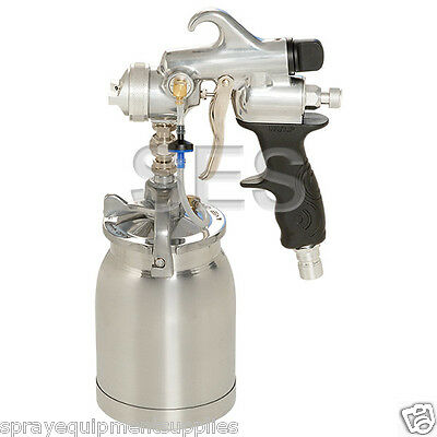 SES Silver Pro HVLP Turbine Paint Spray Gun 1.8mm