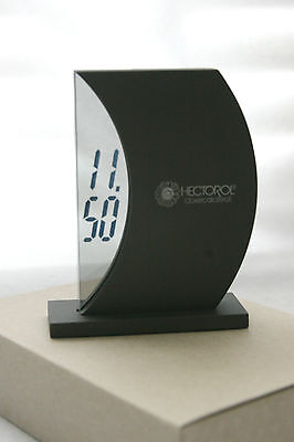 HECTORAL SEE THROUGH LCD CLOCK - PHARMACEUTICAL - UNIQUE - GRAY