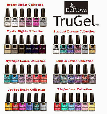 EzFlow TruGel Polish - New Colors - 0.5oz / 14ml - LED/UV Cured
