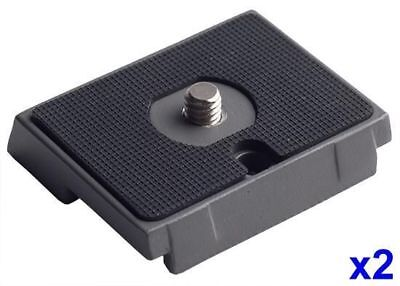 "PhotR 2x 200PL Quick Release Plate Adapter for RC2 System Tripod Head 1/4"" Screw"