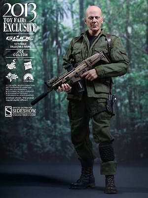 "Joe Colton GI Joe Bruce Willis Toy Fair 2013 Exclusive MMS206 12"" Figur Hot Toys"