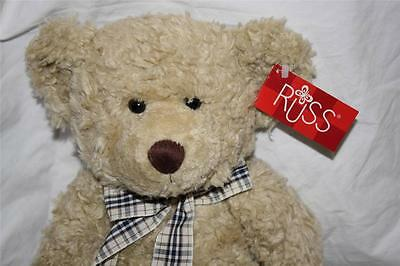 NWT Vintage Russ Berrie Bears from the Past Collection  2815 Tennyson Oatmeal