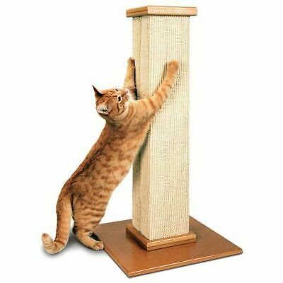 Smart Cat Heavy Duty Tall Sisal Scratch Pole - SmartCat Ultimate Scratching Post