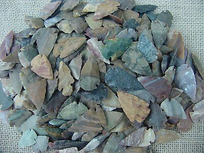 Arrowheads buy 1 get 1 free from bulk pile stone replica arrowheads point