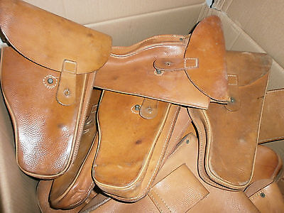 Czech Army Vz61 Scorpion Leather Holster Very Good Cond.