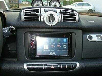Autoradio Smart Fortwo Navigatore Gps Dvd Usb Sd Dvx Mp3 Aux Dab Integrato