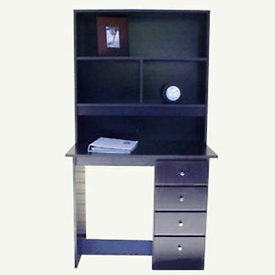 Bedroom Furniture> Brand New Desk and Hutch In Black colour/4 drawers/Syd/Melb/B