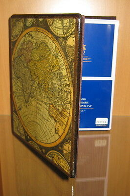 Traveler's Antique Map of the World Photo Album