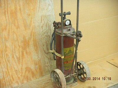 Antique  Pyrene Fire Extinguisher