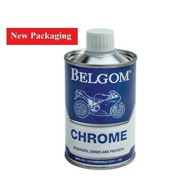 Belgom Chroom Chrome Polish plus FREE Polishing Cloth
