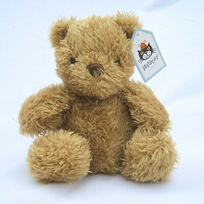 Jellycat: NEW Small Golden Pudge Bear Plush Toy (Retired V/Rare) Collectable