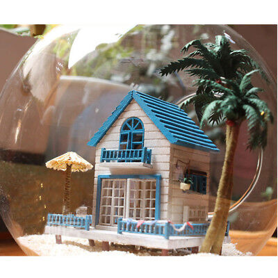DIY Handcraft Miniature Project Kit Dolls House The Aegean Sea Beach House
