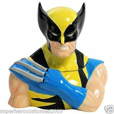 Wolverine X-Men Cookie Jar Marvel Comics Ceramic Brand New Westland 22937