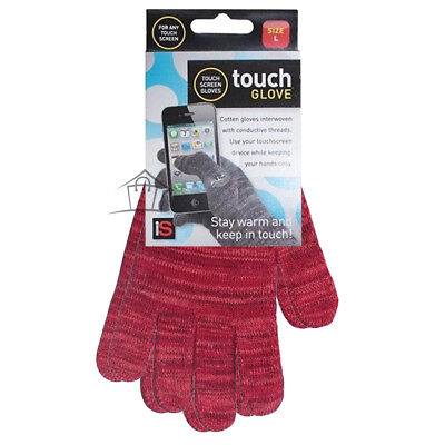 Winter Texting Gloves -Mens Womens Kids -Smart Phone Touch Screen Tablet Cotton