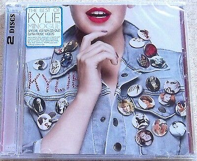 KYLIE MINOGUE Best Of Kylie Minogue (CD + DVD) SOUTH AFRICA Cat# CDPCSJD 7264