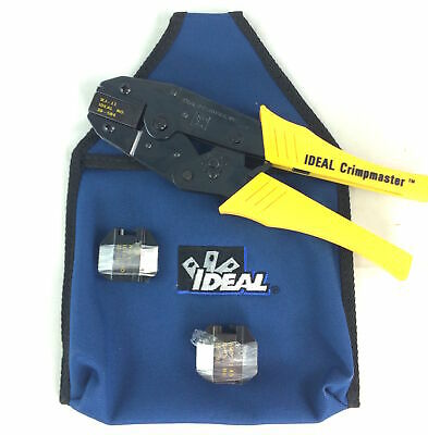 Ideal RJ45, RJ12, AMP-RJ45 Network Crimper Kit [30-507 30-583 30-584 30-592]
