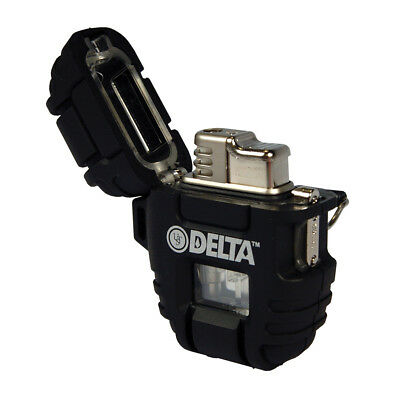UST Windmill Delta Stormproof Lighter, Black