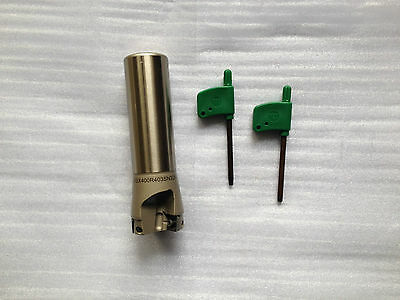 Dia40mm Insert Endmill Cutter with 32mm Straight Shank Mitsubishi SOMT12T308PEER