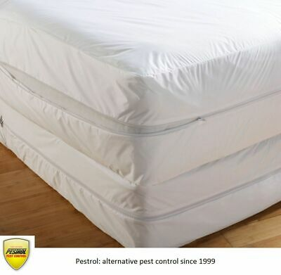 Pestrol White Bed Bug Mattress Protectors: All sizes - Direct from the Importer.
