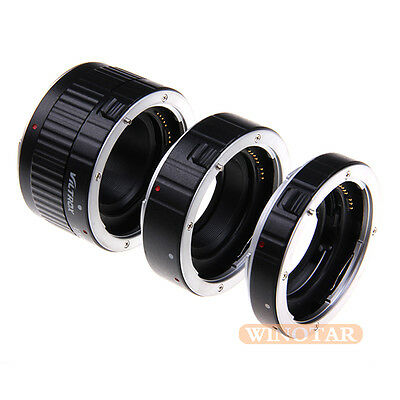 VILTROX Auto Focus Macro Extension Tube for CANON EOS EF EF-S 7D 6D 5D Mark III