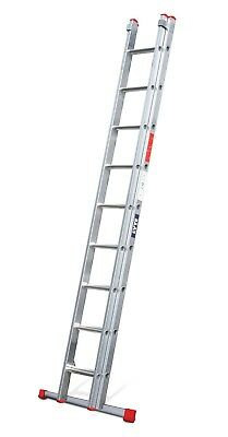 Lyte DIY Extension Ladders - 2 and 3 Section 3.7m - 8.5m|Aluminium for Home/DIY