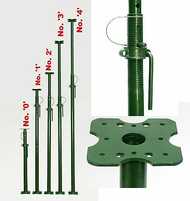 Acrow Building Prop Acro Size '1' Lintel Support - Strong 1.75m Extends to 3.12m