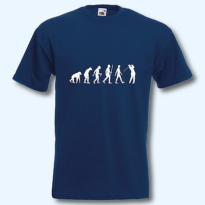 T-Shirt, Fun-Shirt, Evolution Golf, S-XXXL