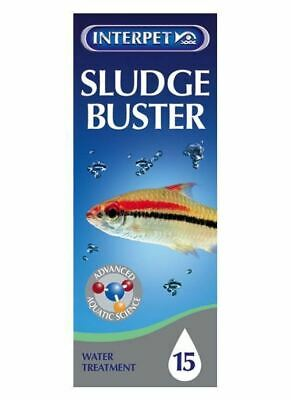 Interpet Sludge Buster 100ml Tropical Marine Aquarium Treatment Remove Slimes