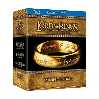 The Lord of the Rings: Motion Picture Trilogy Blu-ray (Special Extended Edition)