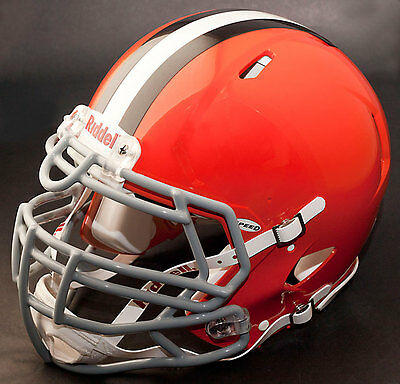 CLEVELAND BROWNS NFL Riddell SPEED Football Helmet (with S3BDU Facemask)