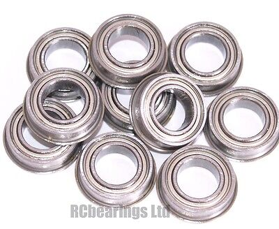 8x14x4mm 8x14x4 Bearings Flanged Metal Rubber Seal Shielded CODE MF148zz MF148rs