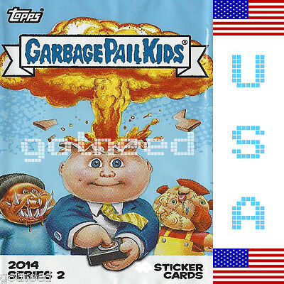2014 USA Garbage Pail Kids Series 2 COMPLETE Set - 132 Card Set