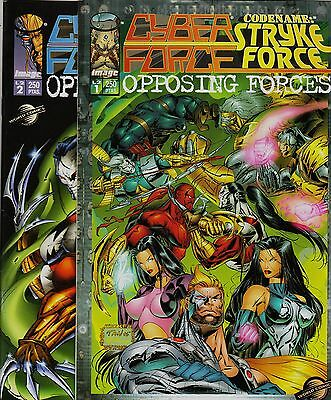 CYBER FORCE/CODENAME: STRYKE FORCE: OPPOSING FORCES Colección completa PLANETA