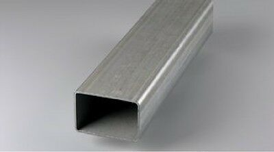 Galv. Steel rectangular tube 32 x 16 x 1mm in 2m length