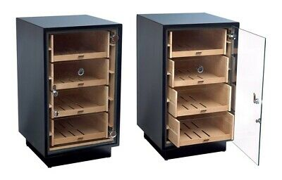 Prestige Import Group THE Manchester Contemporary Style Cigar Display Humidor