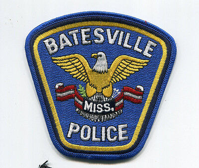 Batesville Mississippi Police Patch