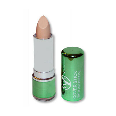 W7 MakeUp Make Up - Concealer Cover Stick With Tea Tree Oil Conceal Spot Blemish