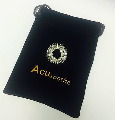 New Acusoothe Sujok Acupressure Flexible Massage Ring Sickness Arthritis Snoring