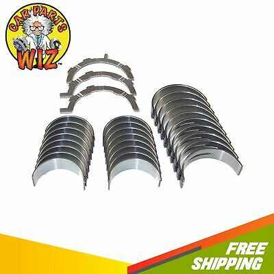 Main Rod Bearings Thrust Washers Fits 96-09 Ford Lincoln 4.6L 5.4L SOHC DOHC