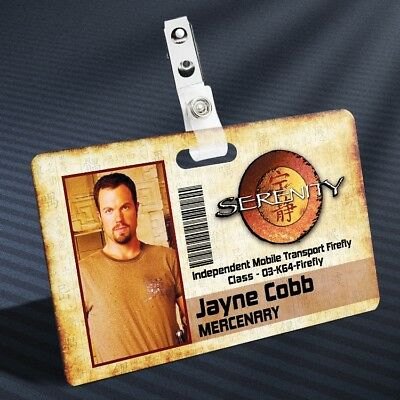 Firefly - Jayne Cobb Prop ID Badge