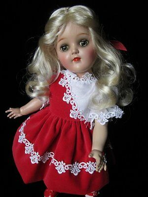I LOVE HER~IMPERFECTIONS & ALL~1950's IDEAL TONI DOLL~BLONDE BEAUTY