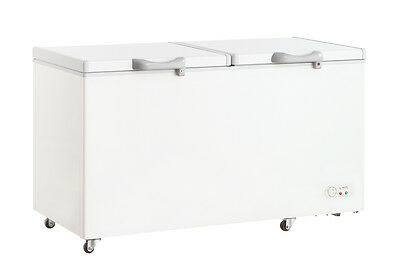 688 Litre Commercial CHEST FREEZER Food Storage With Lock Security RRP $1499.00