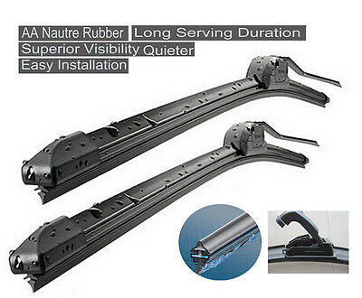 Holden Commodore VT-VZ 97-06 Windshield Wiper Blades/Complete Flex Blades
