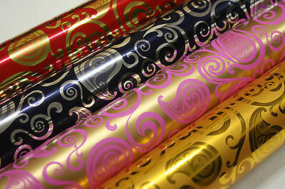 [Paisley_metallic]Wrapping paper,wraps,gift wrap,wrapping ,wrap rolls,53cm*20m